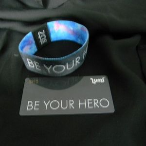 Be Your Hero Zox Wristband with Card
